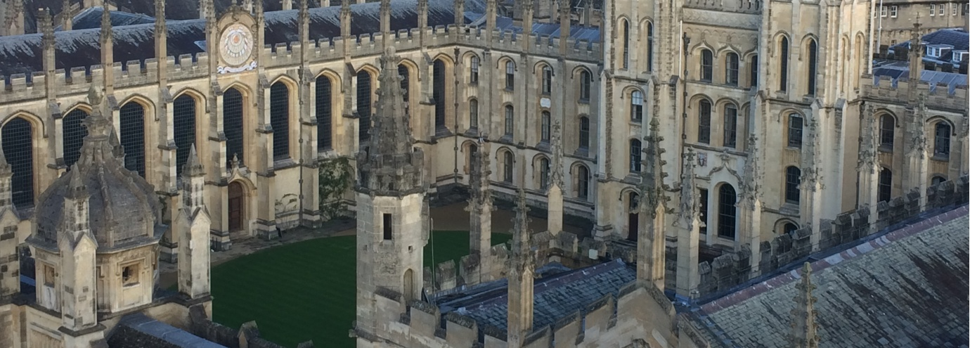 Oxford college quad